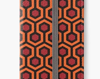 Folio Wallet Case for iPhone 8 Plus, iPhone 8, iPhone 7, iPhone 6 Plus, iPhone SE, iPhone 6, iPhone 5s - The Shining Carpet Pattern