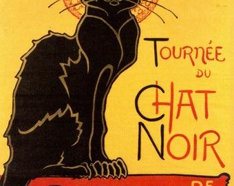 Tournée du Chat Noir - Vintage Poster, Instant download