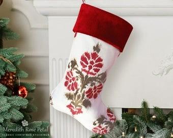 velvet christmas stocking velvet stocking christmas stockings velvet unique christmas stocking modern - Unique Christmas Stockings
