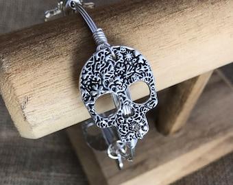 Skull Bangle Gasparilla Buccaneers Pirate Bracelet