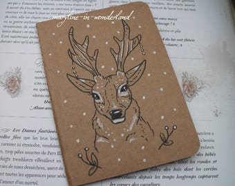 "Sketchbook - notebook Kraft ""Deer"""
