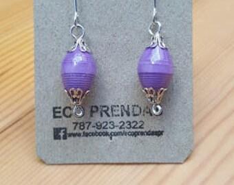Earrings Paper Bead, Paper Bead Earrings, Paper Earrings, Paper Bead Jewelry, Paper Beaded Jewelry, Gift For Girls, Gift For Women