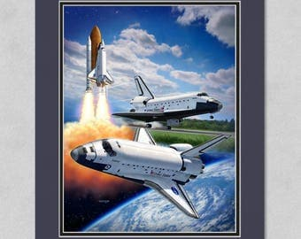 Space Shuttle Montage