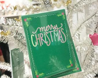 Colorful Christmas Gift Tag (Qty 5)