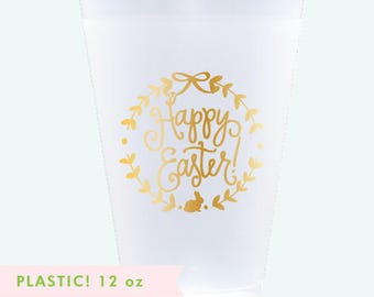 Reusable Easter Cups - 12 oz. (Qty 12)