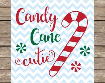 Candy Cane Cutie svg, Candy Cane svg, Chistmas SVG, svg files for cricut, Christmas, svg designs, svg, Peppermint svg, Winter svg svg, Candy