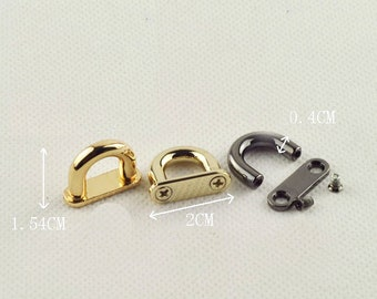 0.75 inch bridge buckle ,belt buckle , strap buckle 6 pcs ( attach with screws and washers)