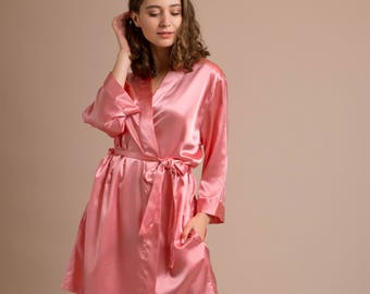 wedding satin robes for bridal party bridesmaids kimono robes robes for wedding party robes for brides silk robes for bridal party