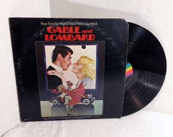 Gable And Lombard Soundtrack vinyl record 1976 Michel Legrand Motion Picture Film Score EX