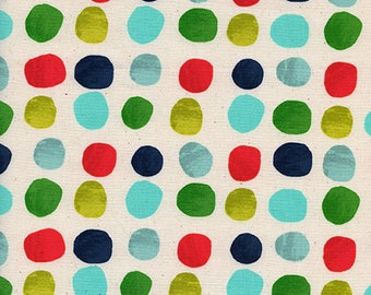 Noel - Painted Dots Blue - Alexia Abegg - Cotton and Steel (5137-1)