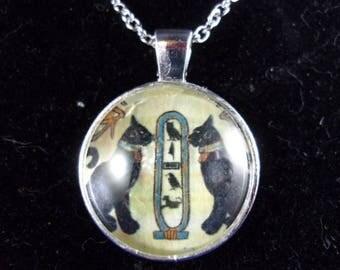 Egyptian Goddess Bast Pendant