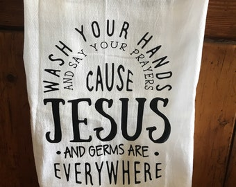 Kitchen Towel With Quote
