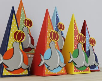 Circus Seal Favor Box-12