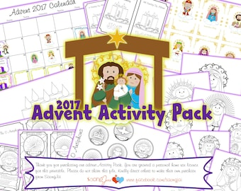 Advent Activity Pack 2017 PDF