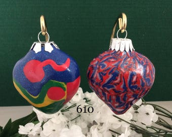 Christmas Ornaments - Set of two (610)