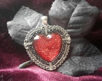 Goth necklace/ alternative jewelry