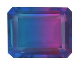 Candy Quartz Triplet Octagon Cut Loose Gemstone 1A Quality 10x8mm TGW 3.20 cts.