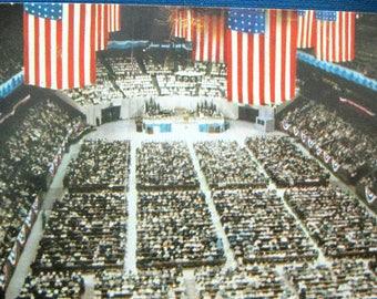 Billy Graham Vintage Postcard Madison Square Garden 1957