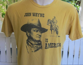 Size XL (48) ** John Wayne Shirt (Single Sided)
