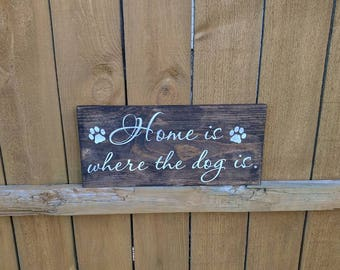 Dog lovers quote sign dog quote decor warning dog sign dog for Dog related home decor
