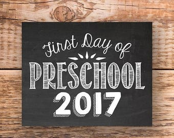 70% OFF THRU 9/30 ONLY first day of preschool sign, first day of school, first day of school, preschool sign, photo props for kids,