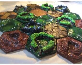 3D Catan Tile Set (5-6 Player)