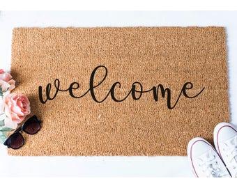 Welcome Doormat - Welcome Mat - Welcome Door Mat - Funny Rug - Reminder Rug - Sassy Doormat - Sassy Doormat - Unique Doormat - Hello