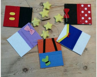 Mickey Mouse Clubhouse inspired bunting