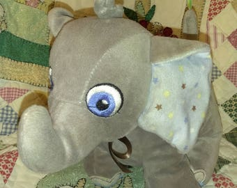 Wind Up Musical Elephant - 10 inches long