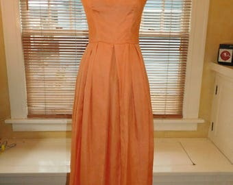 1960's  Party Dress Gown
