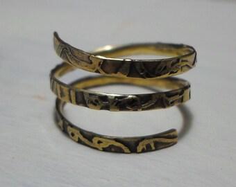 spiral ring