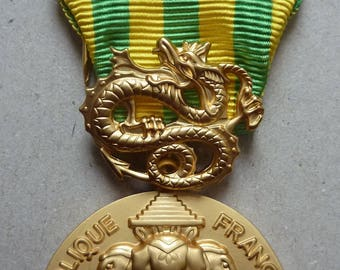 French Vietnam (Indochina) Military Campaign Medal of 1945 - 1954. Superb Condition.