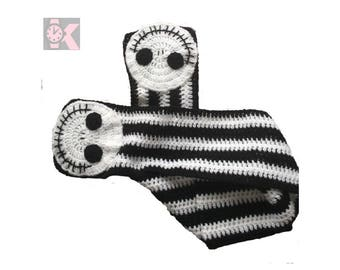 A Nightmare before Christmas, Jack Skellington Handmade Wooly Scarf