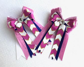 Equestrian Hair Bows/Elegant Equestrian Clothing, beautiful gift