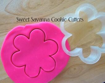 Flower Cookie Cutter - 6 Petal Flower Cookie Cutter