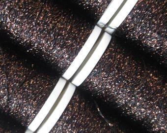 LUXETA: embroidery thread metallic chocolate