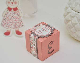 "10 boxes sweets themed ""Charming bunnies"""