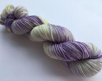 OOAK Hand Dyed Superwash Merino Sock Yarn