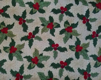 Holly Cotton Fabric Sold by the yard