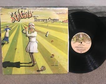 Genesis: Nursery Cryme 1972 Charisma Record