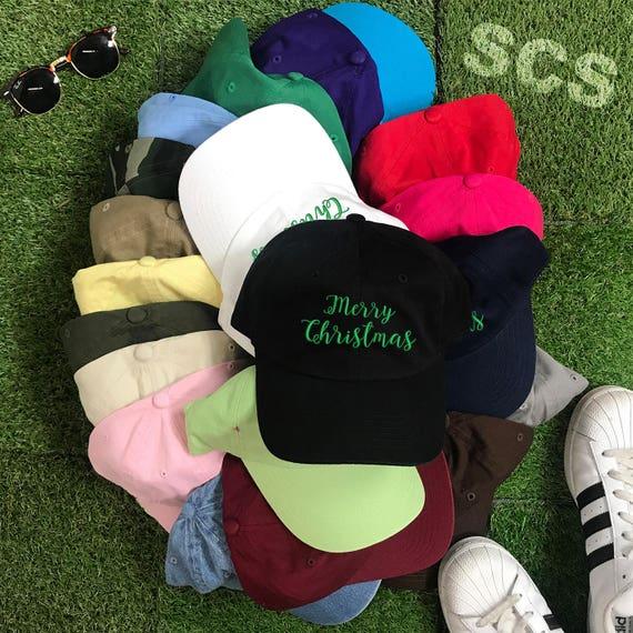 Christmas Gift | Merry Christmas Hat | Christmas | Stocking Stuffer | Christmas Stocking | Tumblr | Merry Christmas Caps| Dad Hats Tumblr