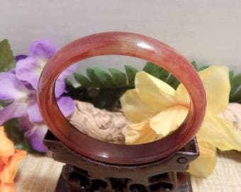 60mm Jade Bangle Bracelet Jewelry Crafts Supplies DIY Crafts Supplies Green White Jade