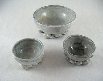 3 cups, rustic  (1198)