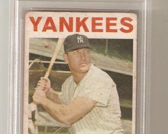 1964 Topps Mickey Mantle PSA 2 Good