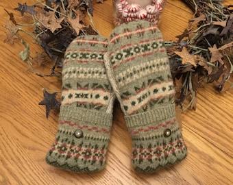 Sweater Mittens-Petite