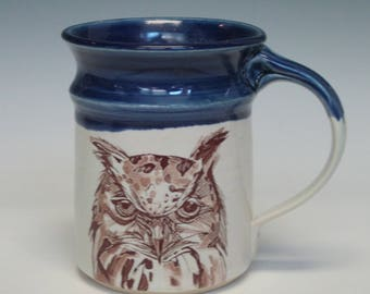 Owl Head Mug