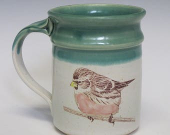 Painted Bird Mug