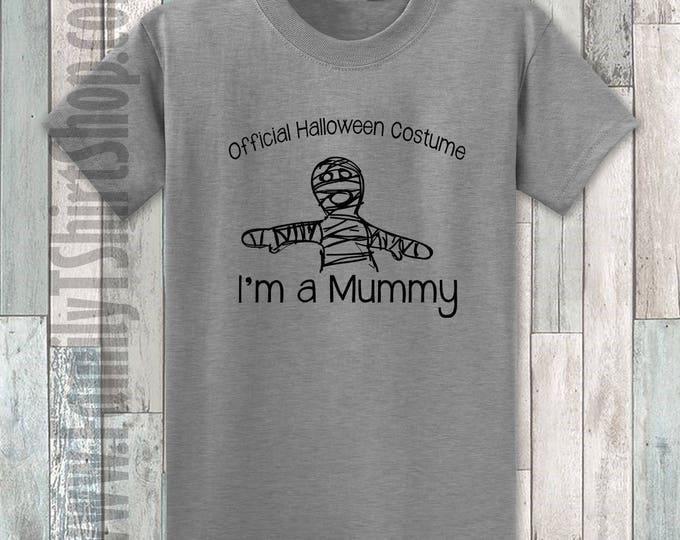 Official Halloween Costume I'm A Mummy T-shirt