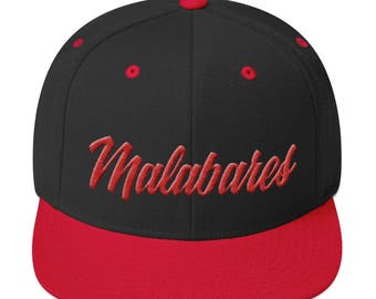 Malabares Snapback - 3D Puff Embroidery
