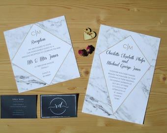 Wedding Invitation Set